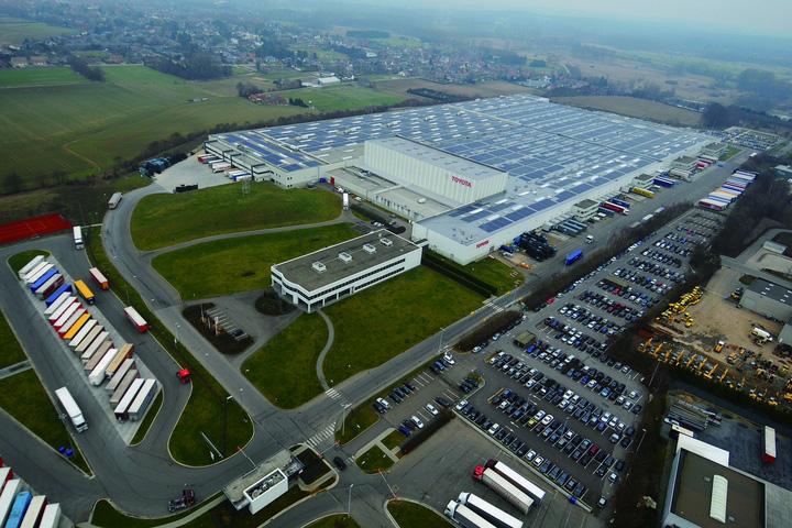 Toyota parts center europe