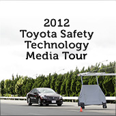 Toyota Safety Technology Media Tour