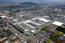 Toyota Plants In Usa >> TOYOTA MOTOR CORPORATION GLOBAL WEBSITE   75 Years of TOYOTA   General Status of Plants in Japan ...