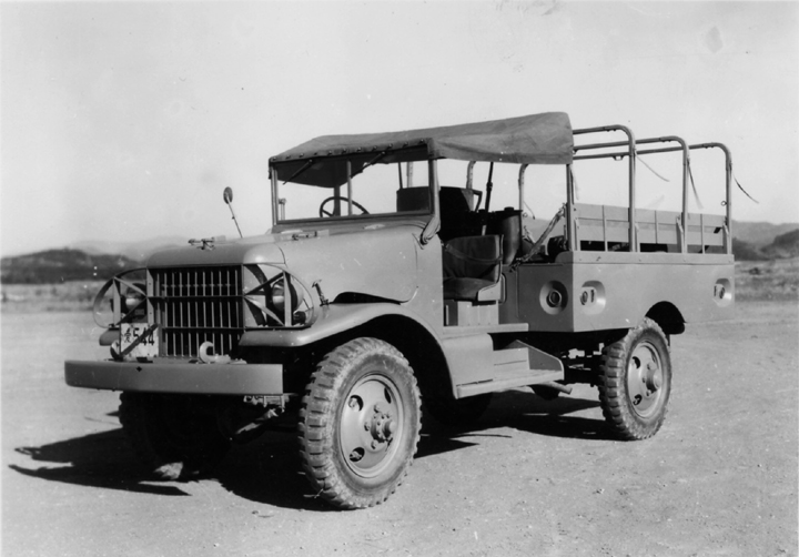 Meanwhile A 3 4 Ton Four Wheel Drive Truck Was Completed As The Model Bq Prototype In January 1951 And Formal Testing Carried Out By Police Reserve