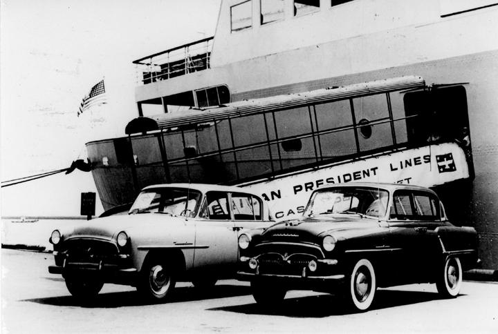 Toyota motor corporation global website 75 years of for Unite motor co ltd