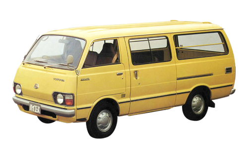 Image result for toyota hiace van second generation