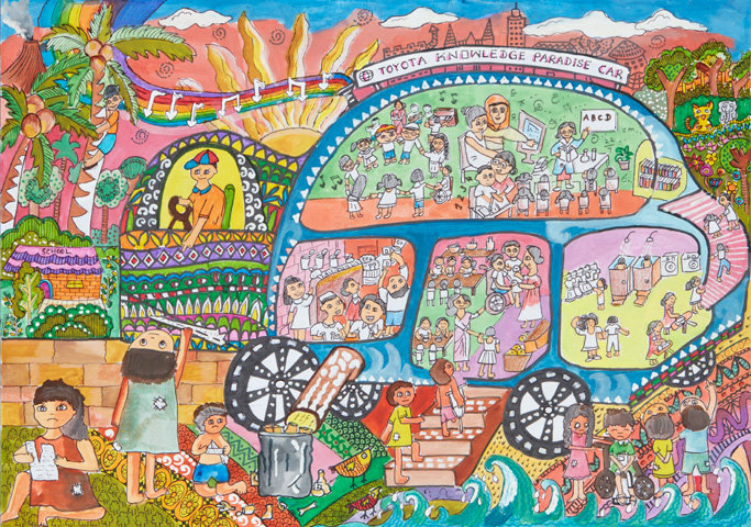 Toyota Global Site Toyota Dream Car Art Contest Winning Artworks 1