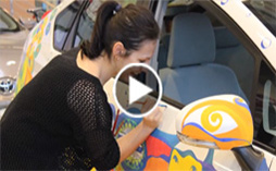 TOYOTA Dream Car Art Contest Drawing events