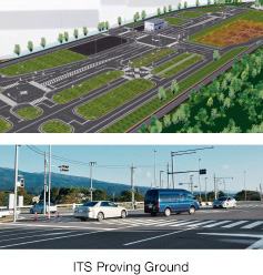Newly Built ITS Proving Ground – the Largest in Japan