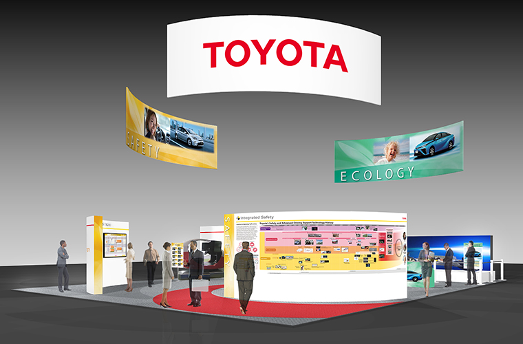 Toyota Global Site 21st Its World Congress Exhibition