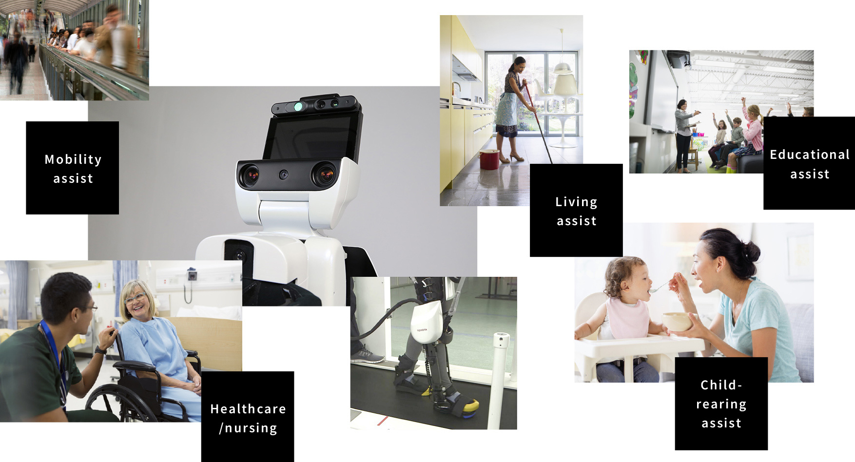 PARTNER ROBOT|FIRST CONCEPT Smiling faces, new encounters and the start of a dream: Innovation looking beyond mobility