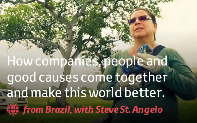 How companies, people and good causes come together and make this world better.