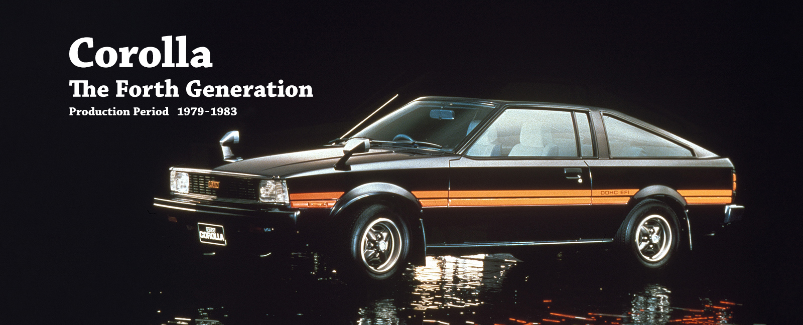 Vehicle Heritage, Corolla, The Fourth Generation