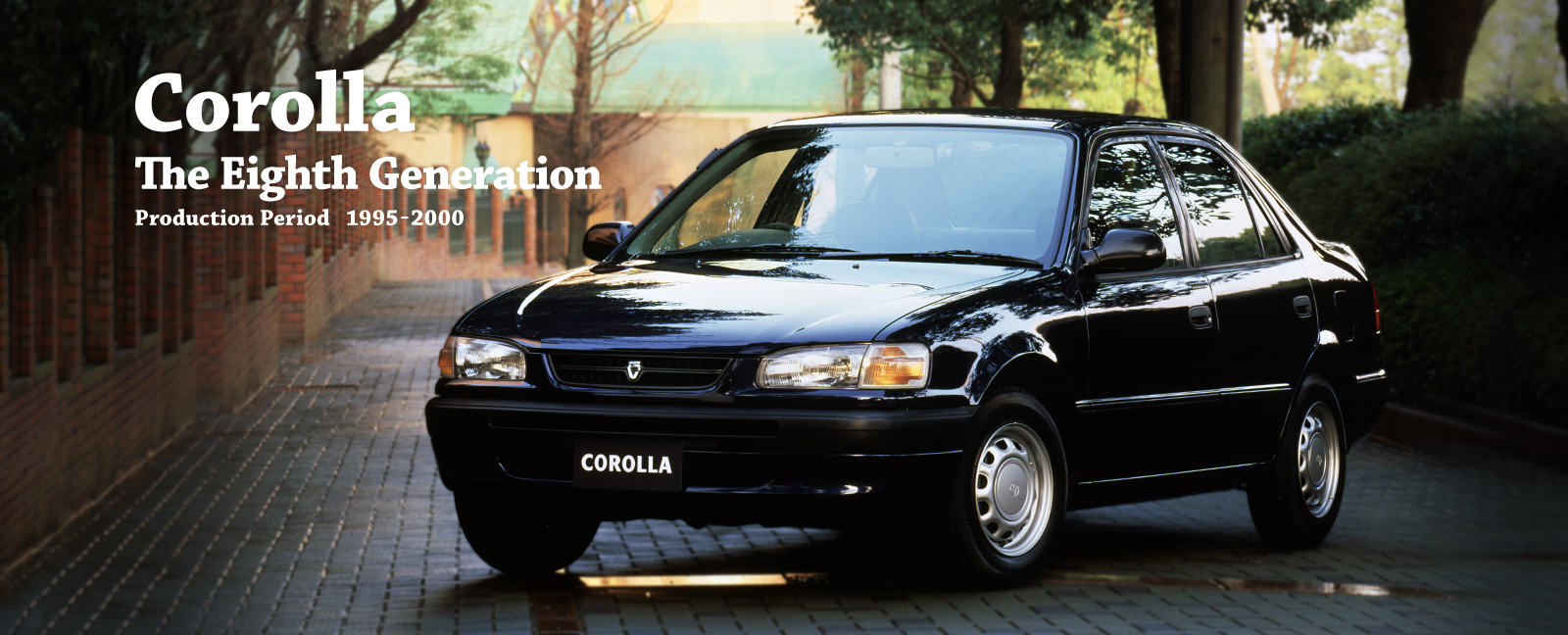 Toyota Global Site Corolla The Eighth Generation 03 1994 Engine Intake Diagram Vehicle Heritage