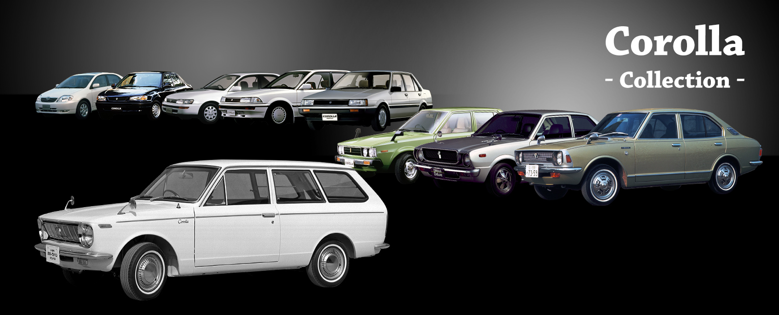 Toyota Global Site | Corolla | Collection