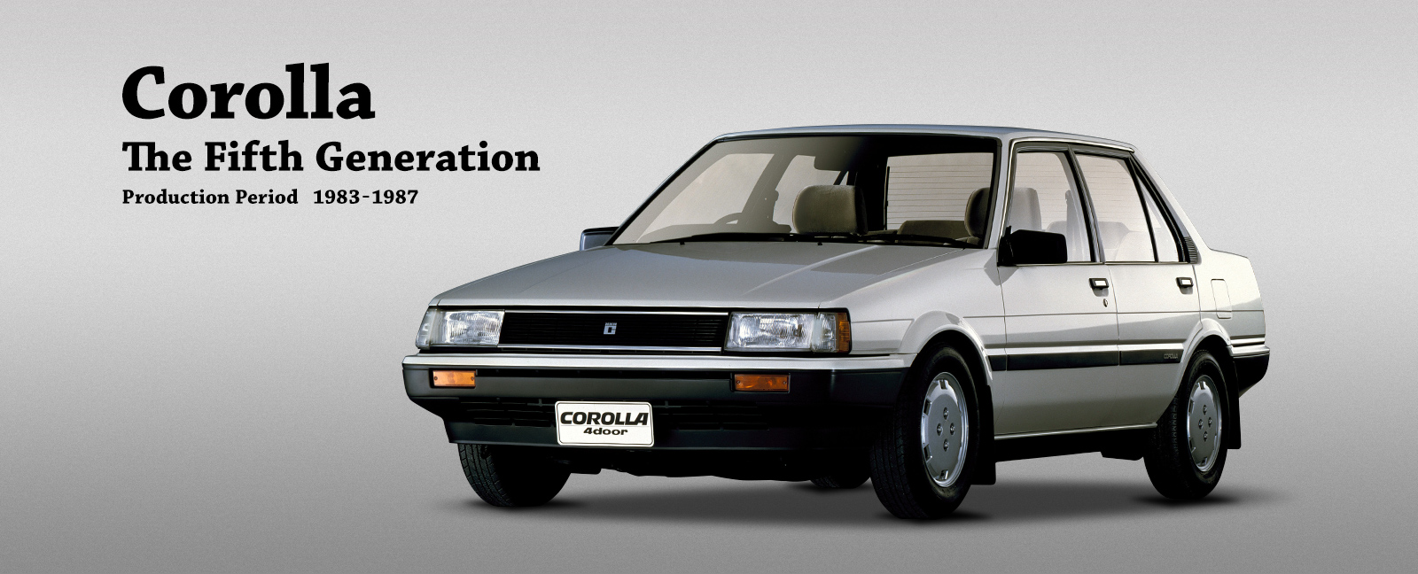 Corolla The Fifth Generation Find out more