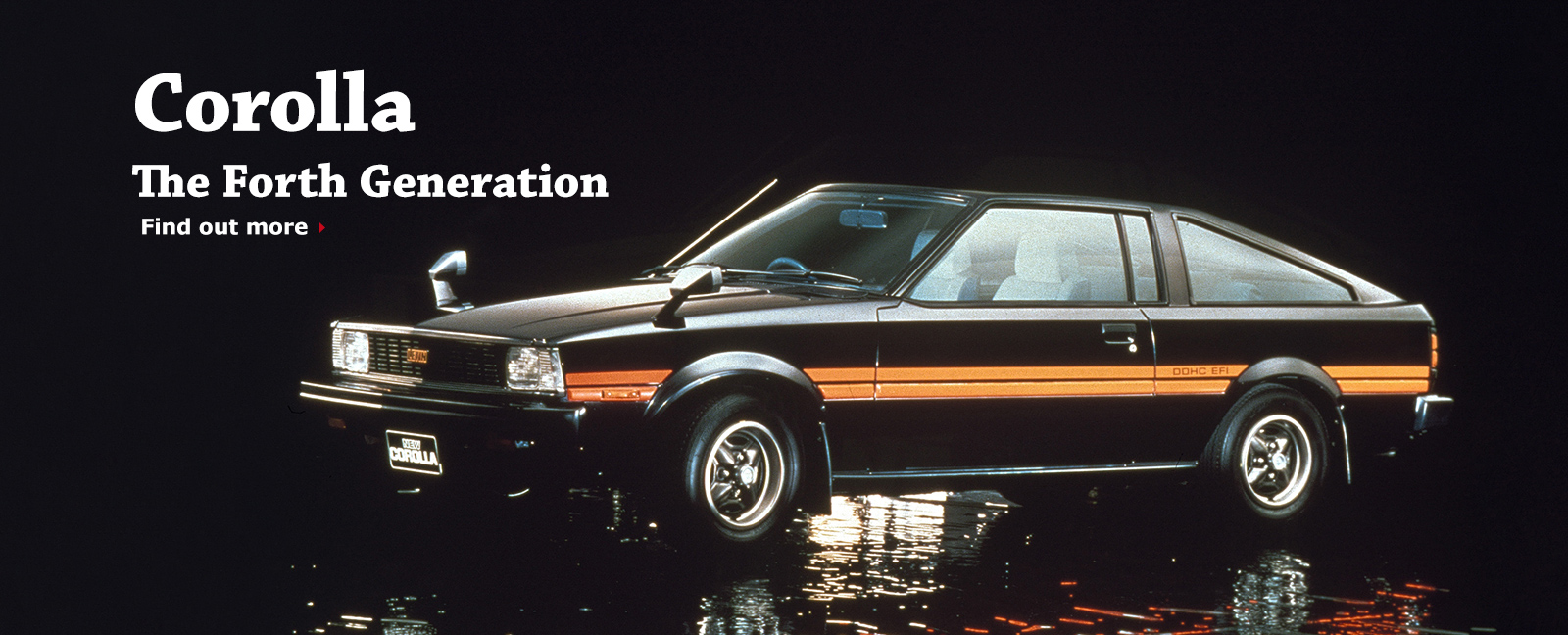 Corolla The Forth Generation Find out more