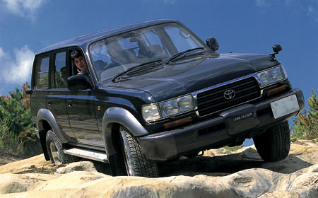 Toyota Global Site | Land Cruiser | Model 80 Series_02