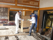 Carrying out furniture